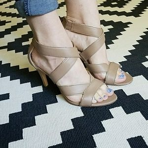 FREE WITH PURCHASE* Calvin Klein Strappy Heels